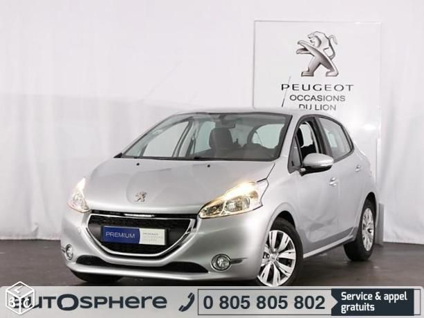 Peugeot 208 berline compact 1.6 e-HDi diesel FAP Business 4cv 5 portes 2014 d'occasion garantie 12 mois. Reprise - Financement - Extension de garantie possible. Saint Cyr sur Loire - Tours - PEUGEOT GRANDS GARAGES DE TOURAINE