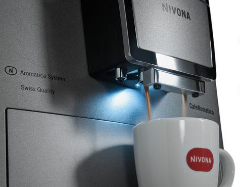 Plnoautomatický kávovar CafeRomantica 845