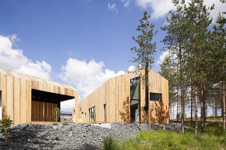 Metsä on lähellä luonnollisessa Majassa, lisää ideoita www.lammi-kivitalot.fi