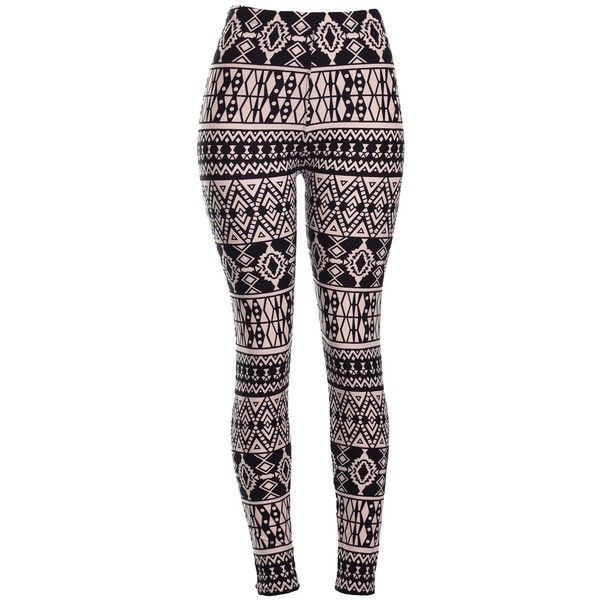 Amazon.com: High Quality Printed Leggings (Ancient): Clothing ($15) ❤ liked on Polyvore featuring pants, leggings, patch pants, blue pants and blue leggings