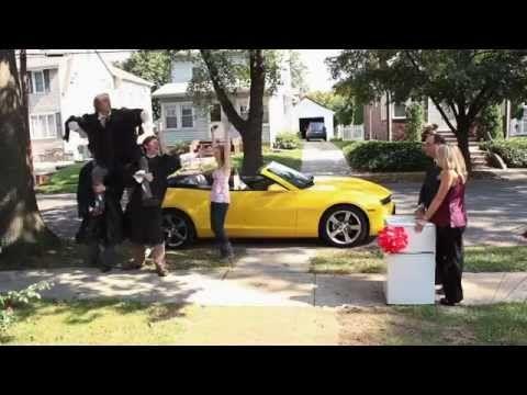 Chevrolet Camaro-Werbung Superbowl 2012 - Chevy Happy Grad