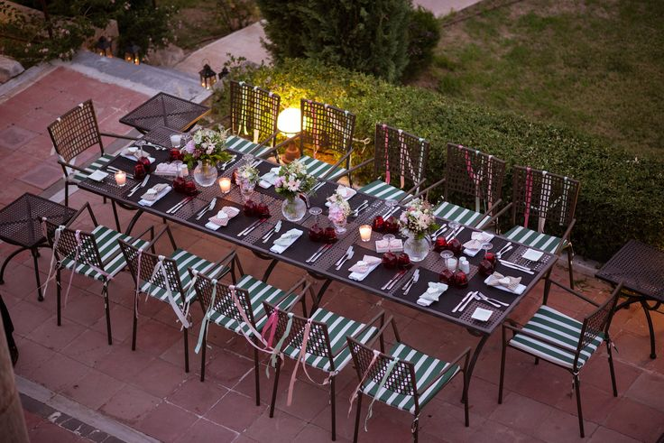 aristocratic wedding dinner greece concept decoration flowers pink