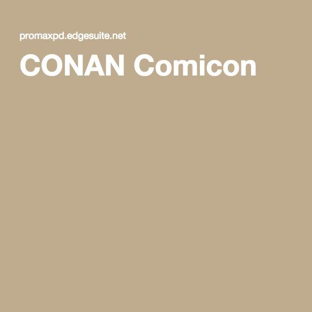 CONAN Comicon
