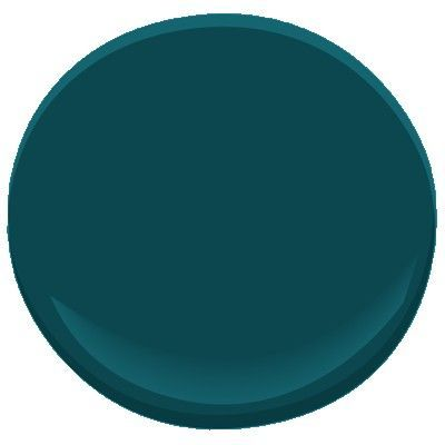 @Benjamin Moore Tucson Teal - thinking of getting this in their chalkboard paint version for the powder room. Fun for guests, right?