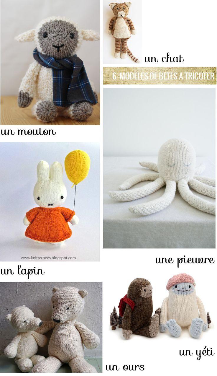 Softie knitting pattern // Tricoter son doudou