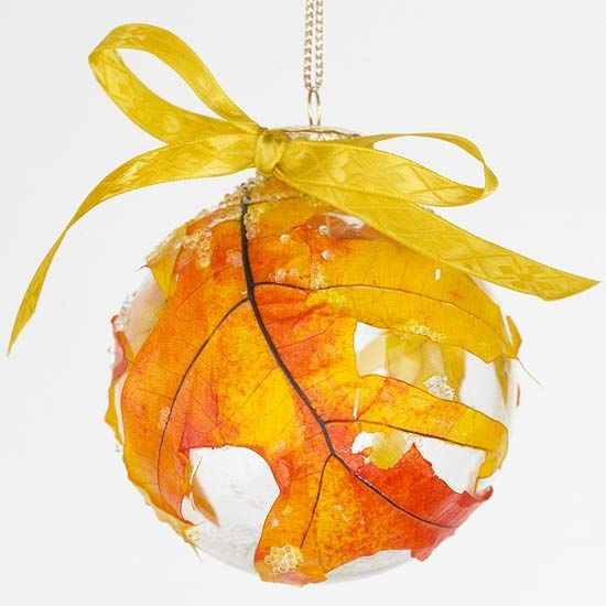 I think this could be among my decorations for Thanks giving this year. So many other ideas for Yule ornaments pop to mind.