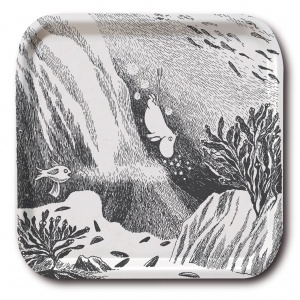 Moomins Diving Moomin Tray by Opto Design