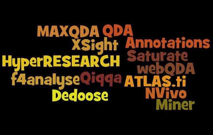 Top 13 Qualitative Data Analysis Software - http://www.predictiveanalyticstoday.com/top-qualitative-data-analysis-software/