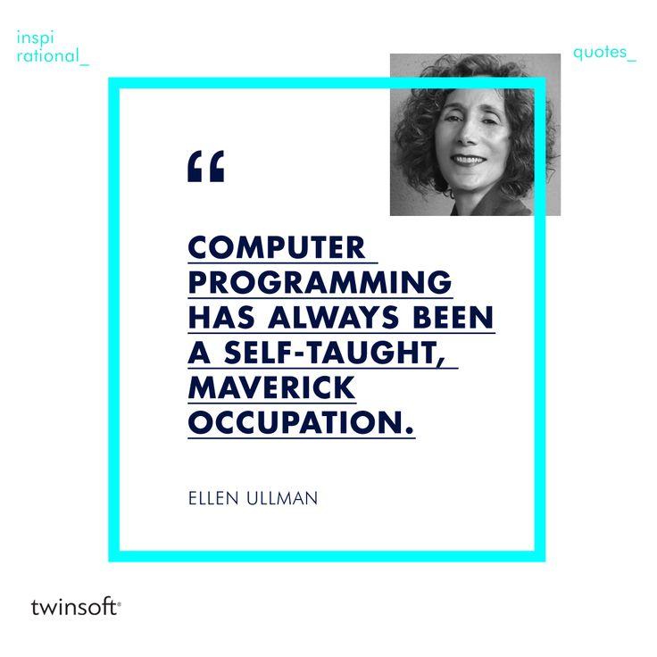Το ανορθόδοξο πνεύμα και η τάση να ανακαλύπτουμε νέες τεχνολογίες, είναι βασικοί λόγοι για τους οποίους λατρεύουμε τη δουλειά μας.   #twinsoft #inspirational #quotes