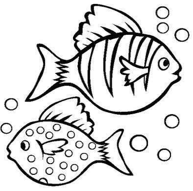 fish coloring pages Animais aqu ticos