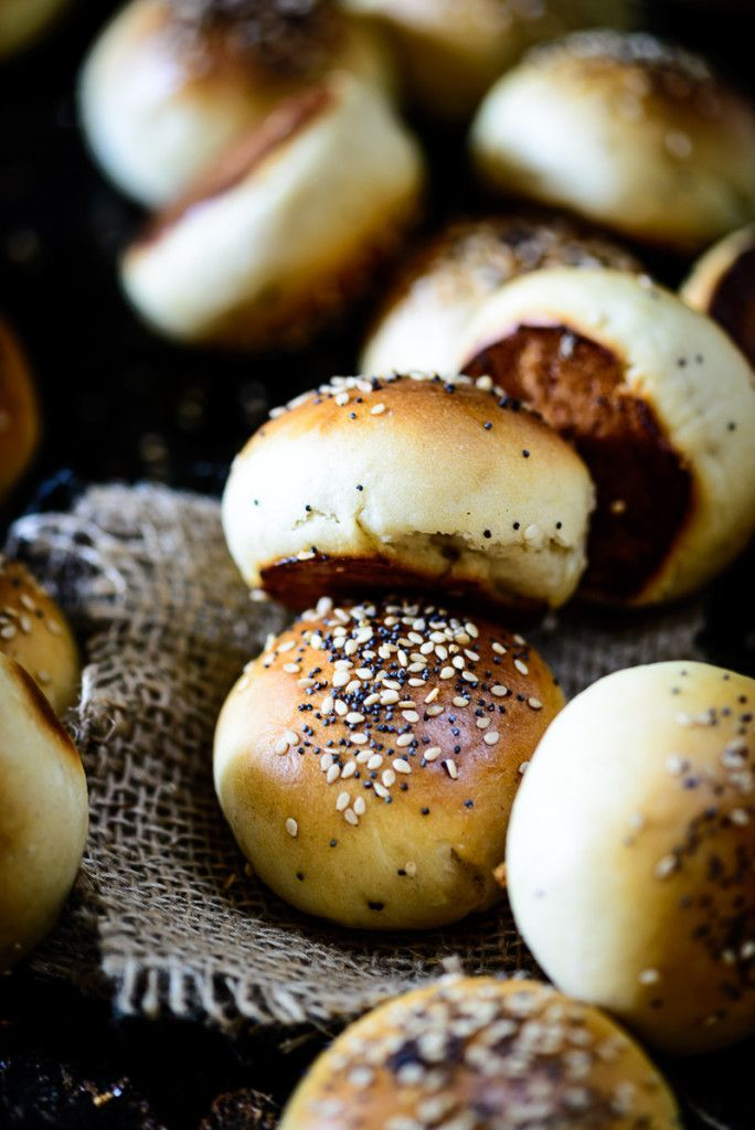 These grab and eat mini hamburger Slider buns are soft, moist and can be loaded with any kind of filling. Homemade buns are anytime better than store bought ones as you can keep a check on the quality of the ingredients used.
