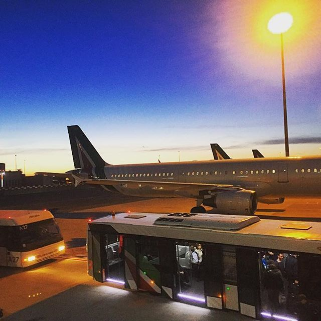source instagram tdwsport  1 more flight to go and we've finally arrived at our final destination @romafiumicino_airport @alitaliaofficial #flight #travel #onthemove #sunset #rome #airport #transport  tdwsport  2017/05/03 04:54:37