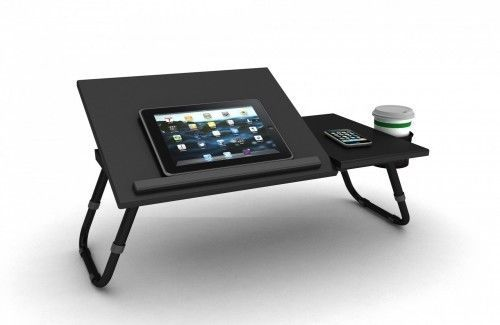 Computer Laptop Stand Portable Notebook Desk Adjustable Tablet Bed Book Cup Tray #Atlantic1