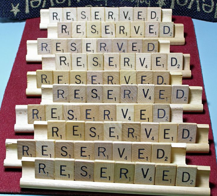 My customers have great ideas for using my custom Scrabble signs. These are for a restaurant in New York City.