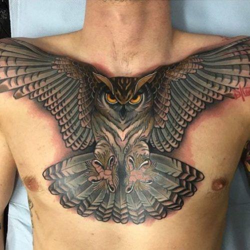 Diseños De Tatuajes En El Pecho Para Hombres Tatux Pinterest