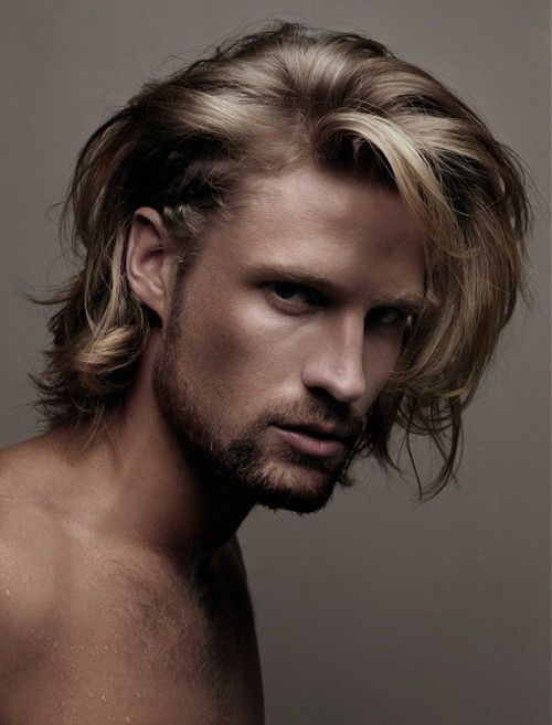 mens long layered hairstyles | Men Short Hairstyle