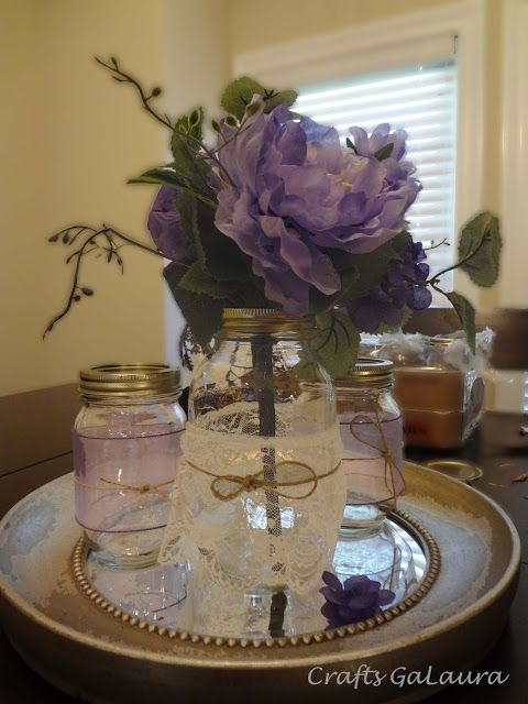 Best mason jar crafts images on pinterest jars