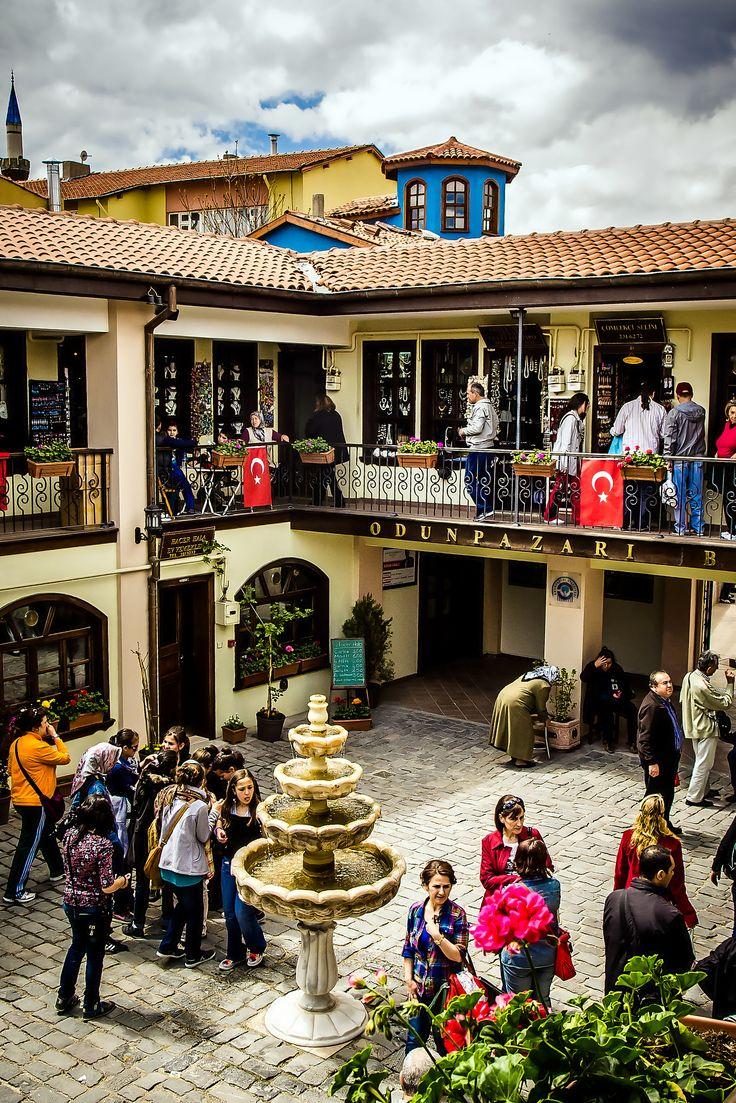 Bazar de la espuma de mar, Atlıhan, Pasa, Eskisehir_ Turkey