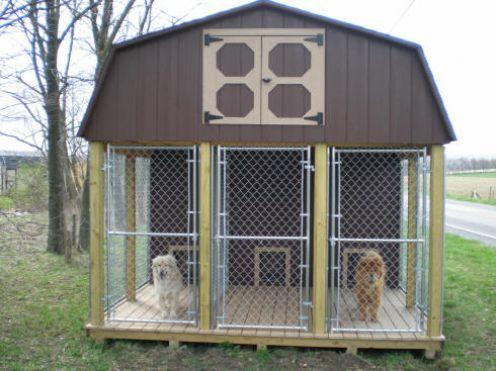 85206b16cdc7e26dd83407594a3aee3b--dog-pen-kennel-ideas