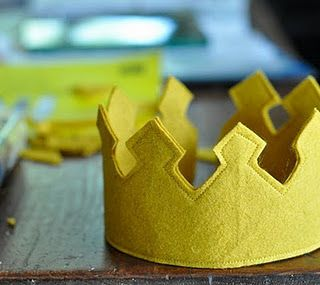 Cute little crowns for the little prince or princess in your life