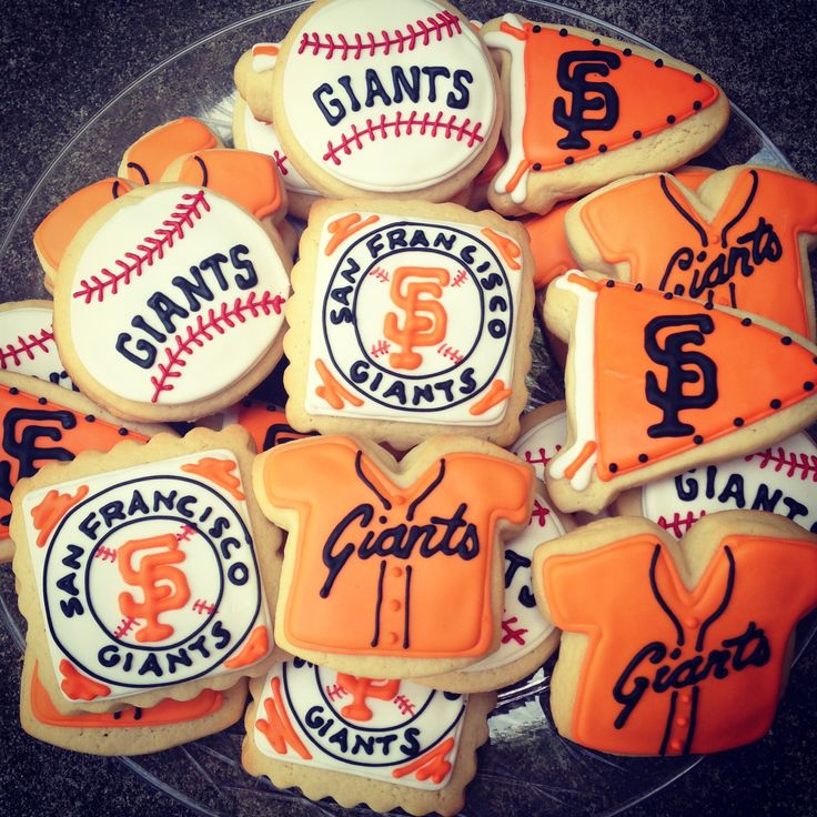 San Francisco Giants themed cookies!