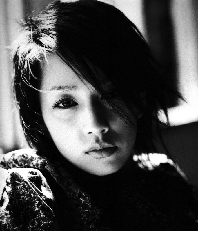 Foto in bianco e nero di Mika Nakashima: Faces, Beautiful Women, Nana Mika Nakashima, Beauty, Beautiful People, Photography
