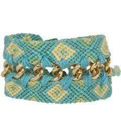 Mercedes Salazar Wayuu Double Knit Chain Bracelet @Layla Grayce #laylagrayce #fashion #jewelry