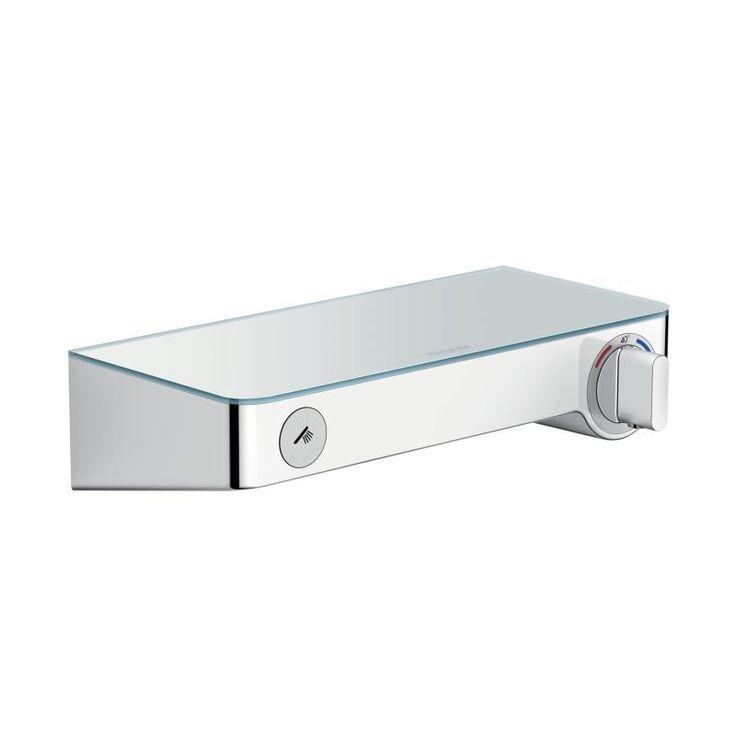 13171000 Hansgrohe  HG ShowerTablet Select 300 dusjtermostat Med integrert glasshylle, Krom