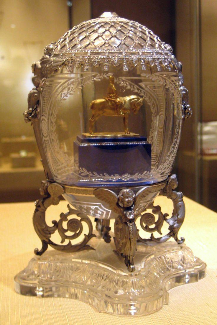 Fabergé egg -Alexander III Equestrian, 1910