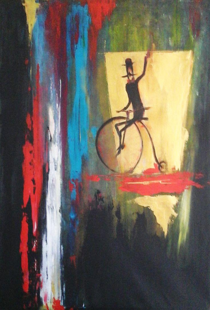 Gerhart Richter Tribute - 2 - Contemporary Art Painting - Florin Coman