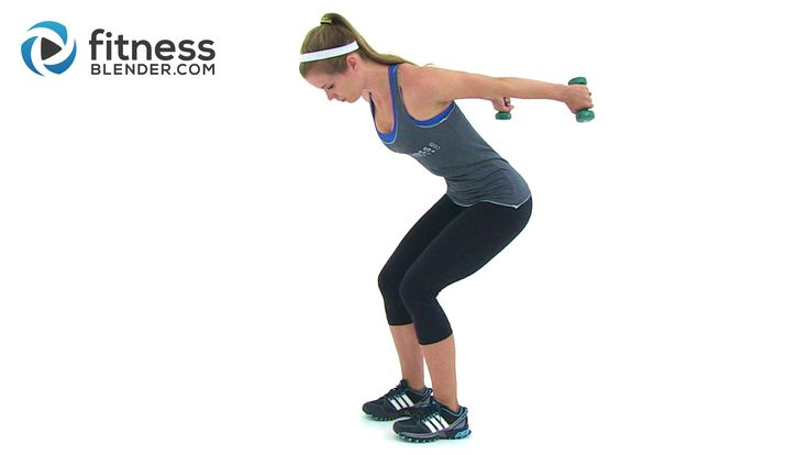 Lean Arms Workout – Rhomboids, Shoulders, Bicep, Tricep, and Chest - Fitness Blender
