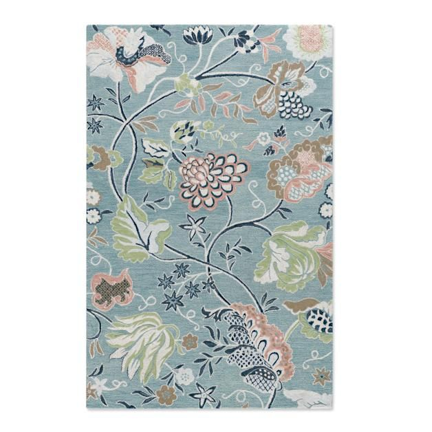 Cathy S Garden Rug In 2020 Rugs Visual Texture Rug Pad