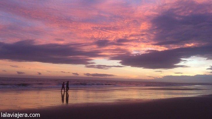 Atardecer en la playa de Islantilla (#Huelva)