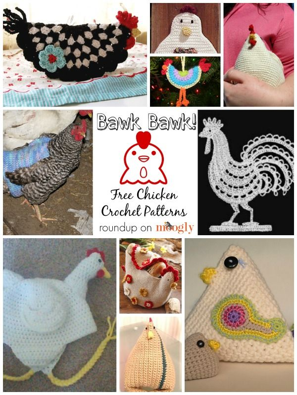 Chicken aficionados - this roundup is for you! Why crochet chickens? Why NOT! Here are 10 free chicken crochet patterns!