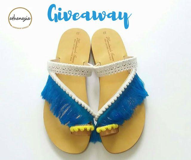 Κέρδισε ένα ζευγάρι χειροποίητα σανδάλια by Αthanasia Handmade Sandals