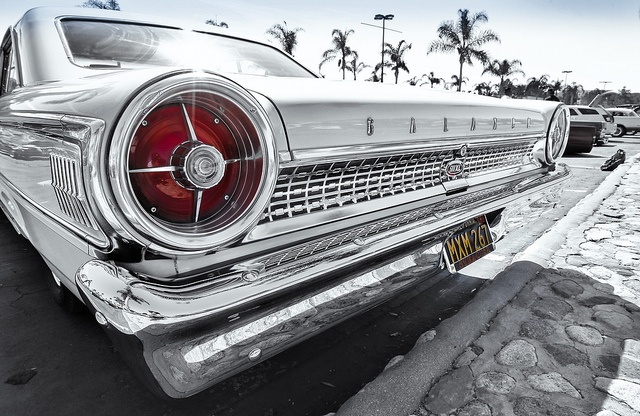 Ford Galaxie 500 XL Under the Palms