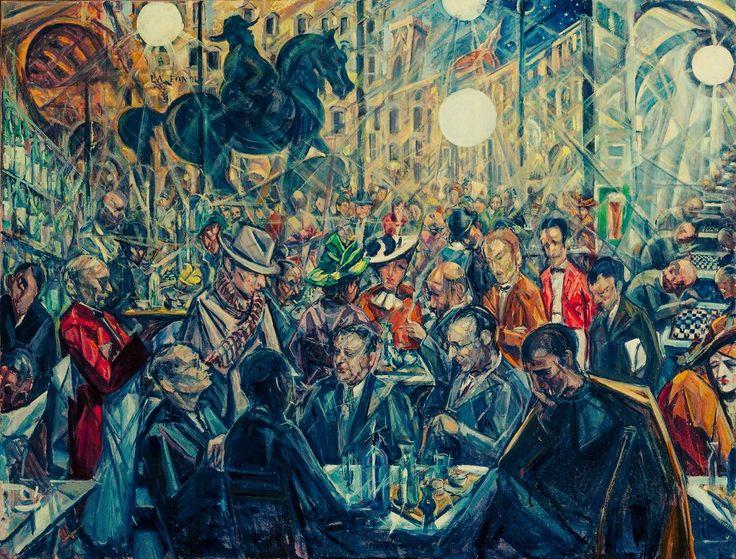 Baccio Maria Bacci Solaria alle Giubbe Rosse 1930-1940 [1200 x 912]