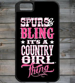 Country Girl ® Bling Thing iPhone 4/4S Phone Case/Cover
