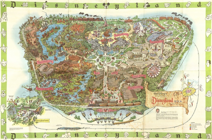 Disneyland, California 1964