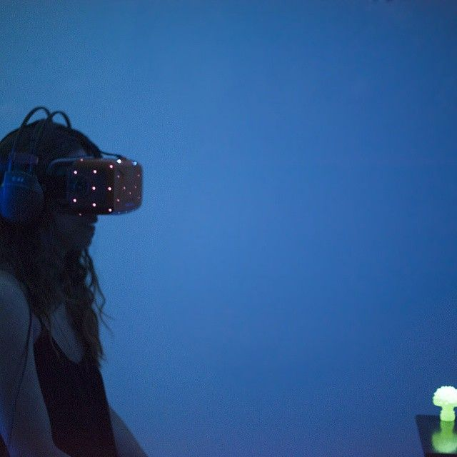 """""""AMANITHA"""" oculus performance by RTView (IT) at Omissis Festival  http://www.omissisfestival.it  ph: Claudia Guido"""