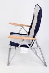 Folding deck chairs were recalled by West Marine Products because they don't support the stated weight capacity.