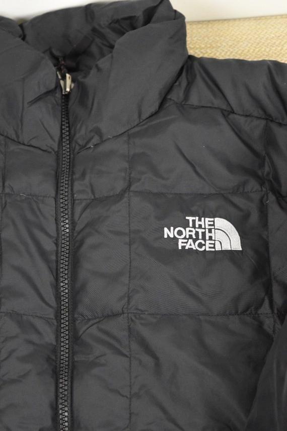 Mens Black North Face 600 Down M Size Medium Puffer Coat Great ... 5254b5934