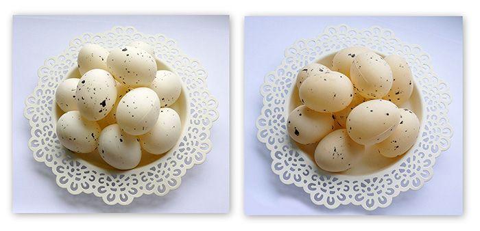 Jajka Jajeczka 4,5 cm 5szt