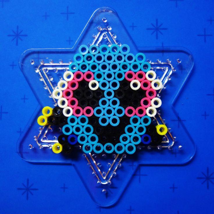 Baby Dory perler beads