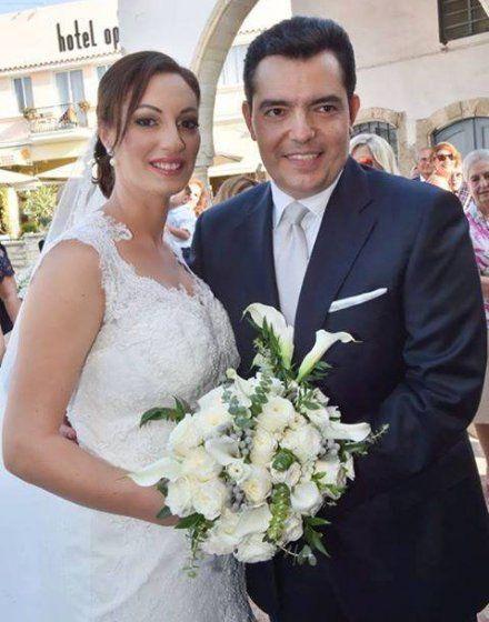 Χριστόφορος Φωκαΐδης – Ερμιόνη Πλάτων: Το ευχαριστήριο μήνυμα μετά το γάμο