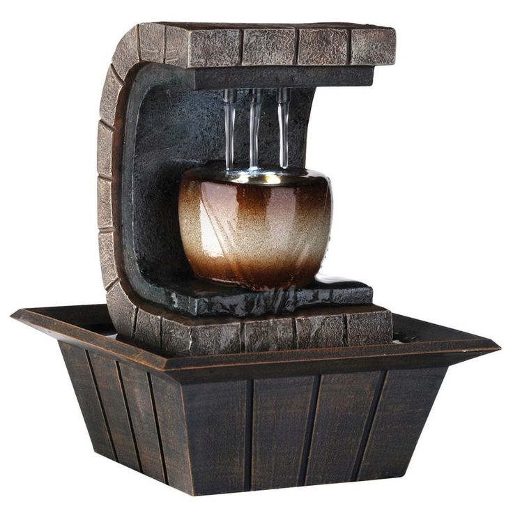 Best Fountain Images On Pinterest Tabletop Fountain - Indoor fountain kits
