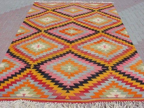 "Anatolian Turkish Classic Antalya Area Rug Kilim Carpet 80 7"" x 127 9"" | eBay"