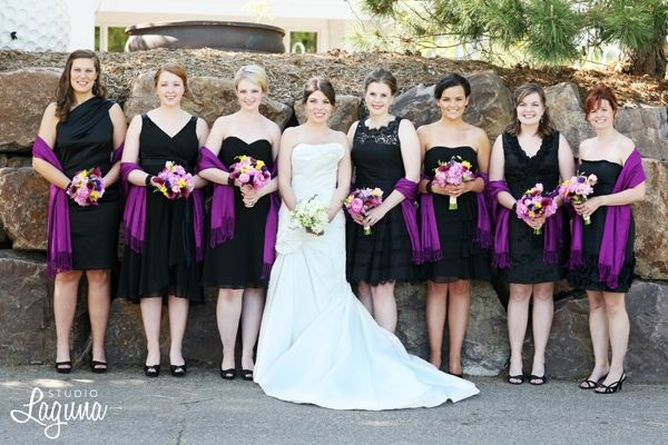 Find the perfect mix and match bridesmaid dresses at Wedding Shoppe Inc.!