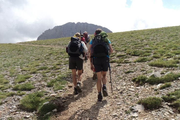 Trekking in the National Park of Mount Olympus