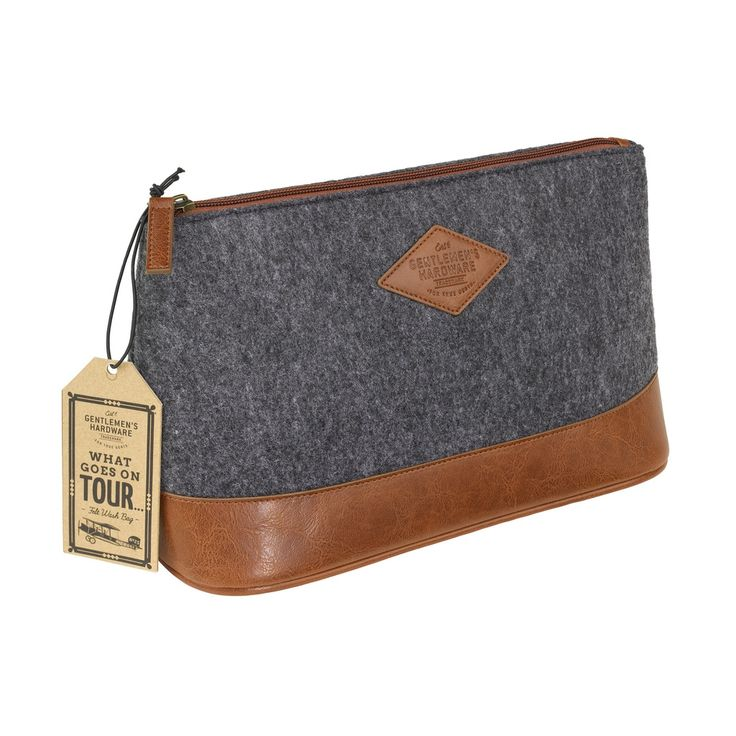 Gents Hardware wash bag Christmas in #HTFSTYLE